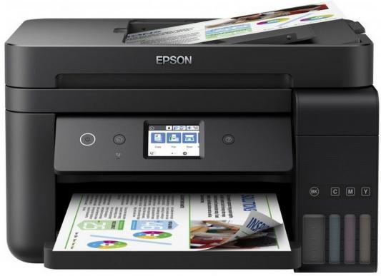 МФУ Фабрика печати EPSON L6190 цветное A4 33/20ppm 2400x1200dpi Ethernet Wi-Fi C11CG19404 мфу фабрика печати epson m205 монохромный a4 34ppm 1440x720dpi usb c11cd07401