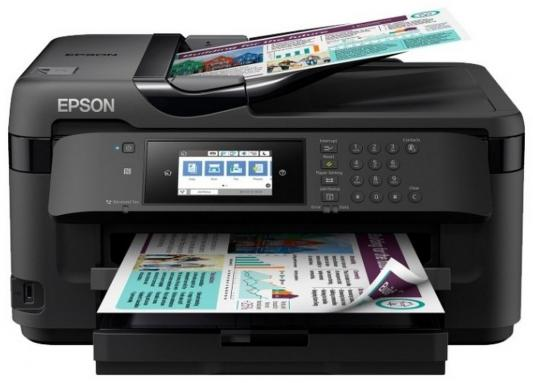 МФУ EPSON WorkForce WF-7710DWF цветное A3 32ppm 2400x1200dpi Wi-Fi C11CG36413