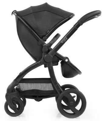 Прогулочная коляска Egg Stroller (jurassic black & black chassis)