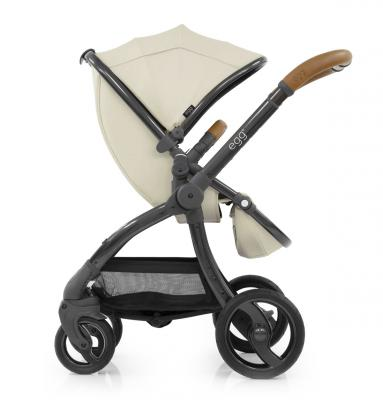 Прогулочная коляска Egg Stroller (jurassic cream & gun metal chassis)
