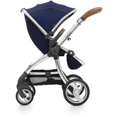 Прогулочная коляска Egg Stroller (regal navy & mirror chassis) original doit metal chassis frame steering engine steering robot car chassis obstacle avoidance velocity universal wheel