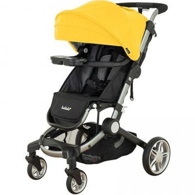 Фото - Прогулочная коляска Larktale Coast Pram (clovelly yellow) коляска прогулочная everflo safari grey e 230 luxe
