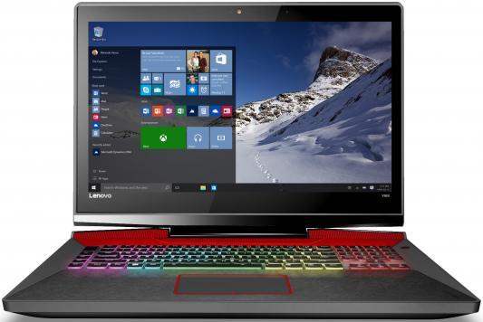 Ноутбук Lenovo IdeaPad Y900-17 17.3 1920x1080 Intel Core i7-6700HQ 80Q1001GRK ноутбук lenovo ideapad y900 intel core i7 6700hq 17 3 16gb 1tb 128gb gtx 980m w10 64 80q1001grk
