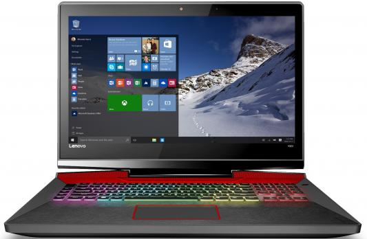 Ноутбук Lenovo IdeaPad Y900-17 17.3 1920x1080 Intel Core i7-6700HQ ноутбук lenovo ideapad y900 intel core i7 6700hq 17 3 16gb 1tb 128gb gtx 980m w10 64 80q1001grk