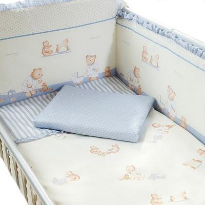 Сменное постельное белье 3 предмета Перина Тиффани Неженка (голубая)