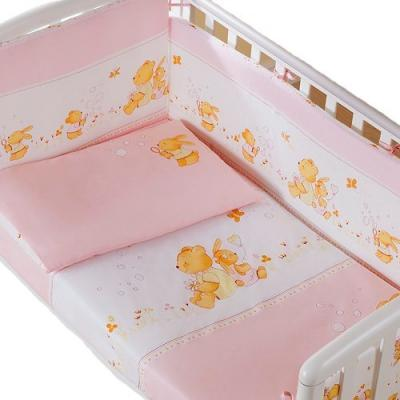 Сменное постельное белье 3 предмета Перина Фея Лето (розовое) постельный сет 4 предмета перина фея лето розовый