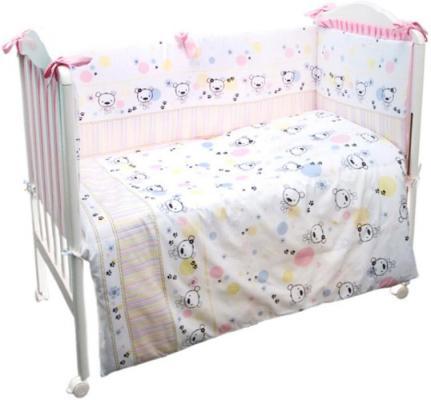 Сменное постельное белье 3 предмета Сонный гномик Конфетти (розовый) сонный гномик постельное белье считалочка 7 пред сонный гномик бежевый