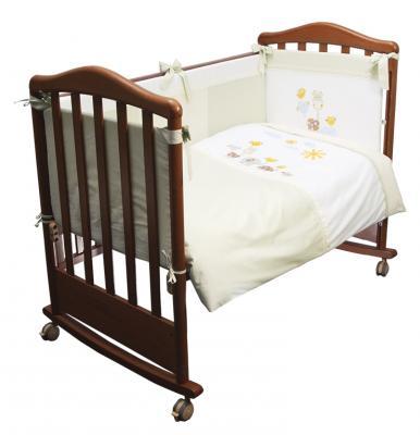 Сменное постельное белье 3 предмета Сонный гномик Пикник (фисташковый) сонный гномик постельное белье считалочка 7 пред сонный гномик бежевый