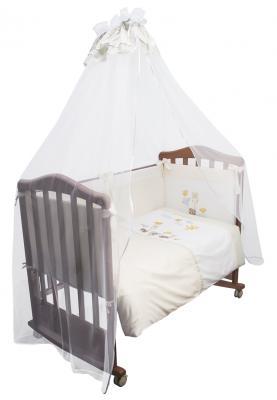 Постельный сет 7 предметов Сонный гномик Пикник (молочный) борт в кроватку сонный гномик считалочка бежевый бсс 0358105 4