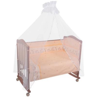 Сменное постельное белье 3 предмета Тайна снов Оленята (бежевый) тайна снов оленята 7 предметов розовый
