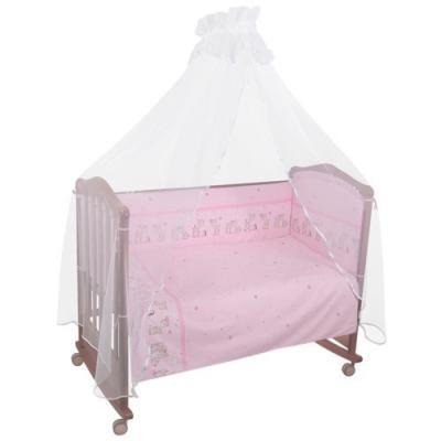 Сменное постельное белье 3 предмета Тайна снов Оленята (розовый) тайна снов оленята 7 предметов розовый