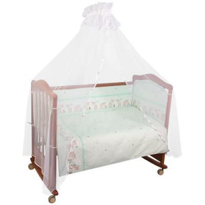 Сменное постельное белье 3 предмета Тайна снов Оленята (салатовый)