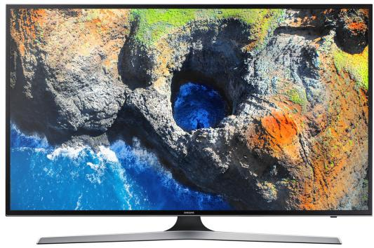 Телевизор Samsung UE40MU6103UXRU черный телевизор samsung ue28j4100