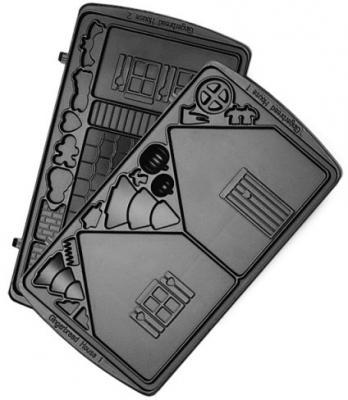 Панель для мультипекаря Redmond RAMB-14 чёрный панель для мультипекаря redmond ramb 14 домик page 3