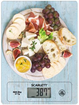 Весы кухонные Scarlett SC-KS57P25 рисунок весы scarlett sc bs33e084 белый рисунок