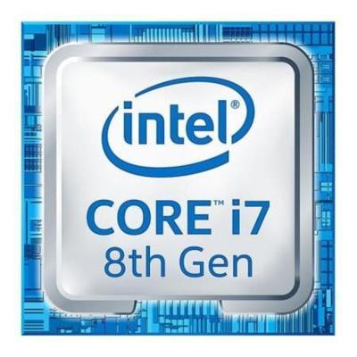 Процессор Intel Core i7-8700 3.2GHz 12Mb Socket 1151 v2 OEM процессор intel core i5 6400 2 7ghz 6mb socket 1151 box