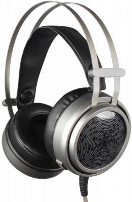 Игровая гарнитура проводная Oklick HS-L600G черный гарнитура genius hs 04su с устранением шумовых помех для msn