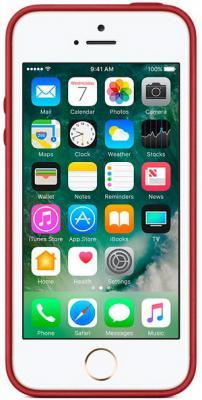 Чехол Apple MR622ZM/A для iPhone 5 iPhone 5S iPhone SE красный