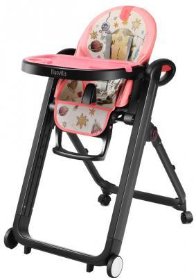 Стульчик для кормления Nuovita Futuro Nero (cosmo rosa) стульчик для кормления nuovita futuro nero cosmo rosa розовый космос