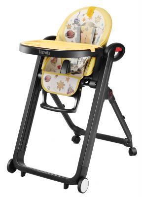 Стульчик для кормления Nuovita Futuro Nero (cosmo giallo) стульчик для кормления nuovita futuro nero cosmo rosa розовый космос