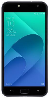 Смартфон ASUS ZenFone 4 Live ZB553KL черный 5.5 16 Гб LTE Wi-Fi GPS 3G 90AX00L1-M01090 аксессуар защитная пленка asus zenfone live zb553kl luxcase суперпрозрачная 55823