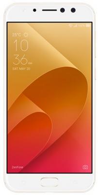 Смартфон ASUS ZenFone 4 Selfie Pro ZD552KL 64 Гб золотистый (90AZ01M4-M01010) смартфон asus zenfone 5 lite zc600kl 64 гб белый 90ax0172 m00340