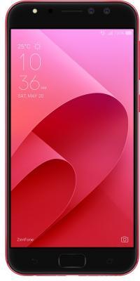 Смартфон ASUS ZenFone 4 Selfie Pro ZD552KL красный 5.5 64 Гб LTE Wi-Fi GPS 3G 90AZ01M9-M01020 аксессуар защитная пленка asus zenfone 4 selfie pro zd552kl luxcase суперпрозрачная 55825