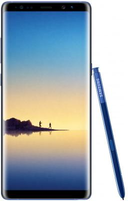 Смартфон Samsung Galaxy Note 8 синий сапфир 6.3 64 Гб NFC LTE Wi-Fi GPS 3G SM-N950FZBDSER смартфон zte blade a510 серый 5 8 гб lte wi fi gps 3g