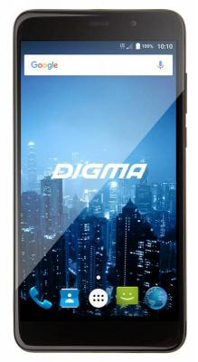Смартфон Digma CITI POWER 4G черный 5.5 16 Гб LTE Wi-Fi GPS 3G CS5026PL планшет digma plane 1601 3g ps1060mg black