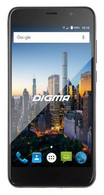 Смартфон Digma CITI MOTION 4G черный 5 16 Гб LTE Wi-Fi GPS 3G CS5025PL мегафон 4g lte wi fi мобильный роутер mr150 5 черный