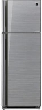 Холодильник Sharp SJ-XP39PGSL серебристый холодильник sharp sjxp59pgsl