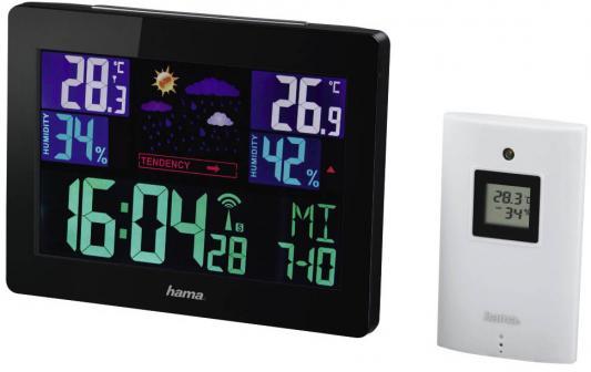Погодная станция Hama Color EWS-1400 H-136259 черный все цены