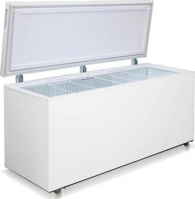 Морозильный ларь Бирюса 560VK белый морозильный ларь whirlpool whm 3111 белый