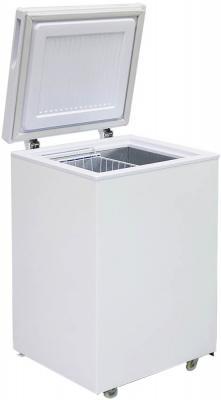 Морозильный ларь Бирюса 100VK белый морозильный ларь whirlpool whm 3111 белый