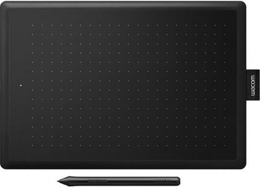 Графический планшет Wacom One CTL-672 USB черный/красный