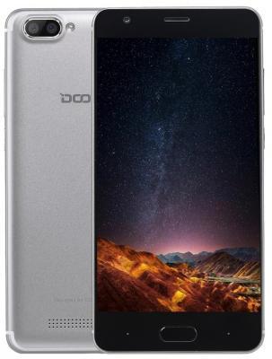 Смартфон Doogee X20 серебристый 5 16 Гб Wi-Fi GPS 3G мобильный телефон no 1 x men x1 f 1 x 1 x 5 mtk6582 1 8 gps 3g ip68