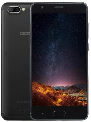 Смартфон Doogee X20L черный 5 16 Гб LTE Wi-Fi GPS 3G 4G смартфон fly fs523 cirrus 16 lte black