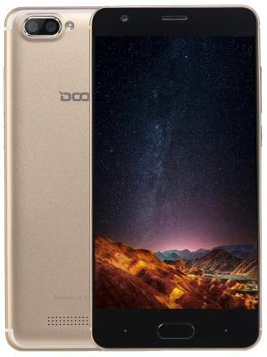 "Смартфон Doogee X20L золотистый 5"" 16 Гб LTE Wi-Fi GPS 3G 4G"