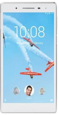 Планшет Lenovo Tab 4 TB-7504X 7 16Gb White Wi-Fi Bluetooth 3G LTE Android ZA380087RU планшетный компьютер android lenovo tab4 10 plus tb x704l 16gb lte white za2r0002ru