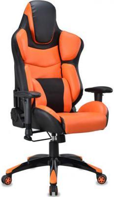 Кресло компьютерное игровое Бюрократ CH-773/BLACK+OR черный/оранжевый компьютерное кресло бюрократ ch 300axsn jp 15 2 black