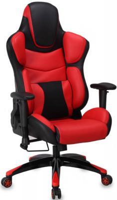 Кресло компьютерное игровое Бюрократ CH-773/BLACK+R черный/красный кресло для геймера бюрократ ch 773 black orange