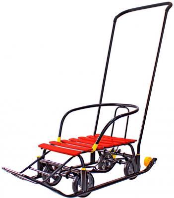 Снегомобиль Snow Galaxy Black Auto 6700 до 50 кг красный сталь пластик