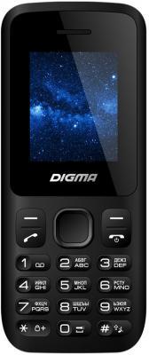 Мобильный телефон Digma A101 2G Linx черный 1.8 4 Мб digma first xs350 2g