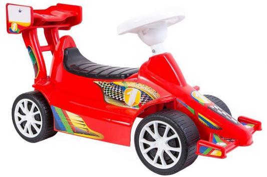 Каталка-машинка RT Гоночный Спорткар Super Sport 1 ОР894к красный от 10 месяцев пластик