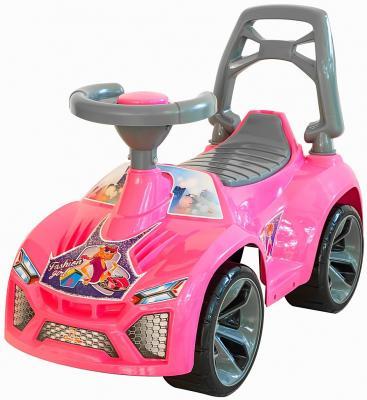 Каталка-машинка RT Ламбо 6687 розовый от 10 месяцев пластик
