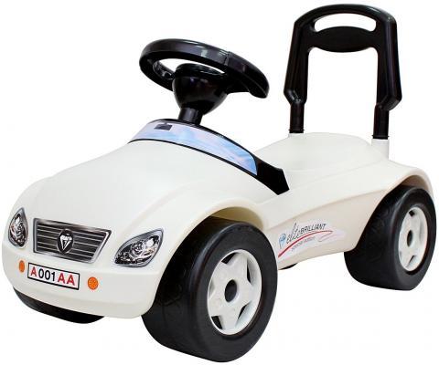 Каталка-машинка Rich Toys Мерсик белый от 8 месяцев пластик