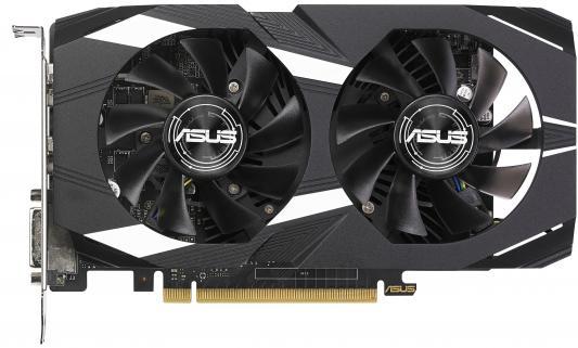 Видеокарта 2048Mb ASUS GeForce GTX1050 PCI-E 128bit GDDR5 DVI HDMI DP HDCP DUAL-GTX1050-O2G-V2 Retail