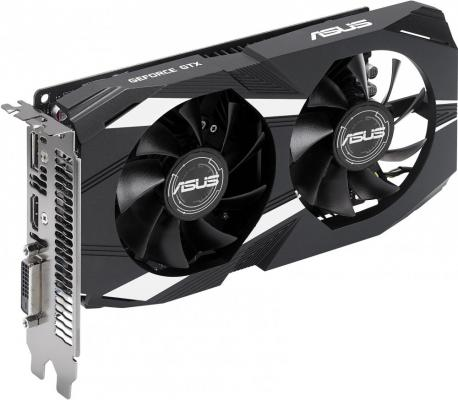 Видеокарта 2048Mb ASUS GeForce GTX1050 PCI-E 128bit GDDR5 DVI HDMI DP HDCP DUAL-GTX1050-2G-V2 Retail видеокарта 2048mb asus geforce gtx1050 pci e 128bit gddr5 dvi hdmi dp hdcp strix gtx1050 2g gaming retail