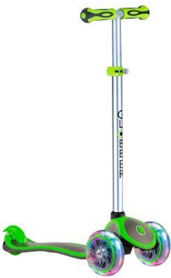 Самокат Globber EVO 4 in 1 PLUS 4*/3* зеленый электронный сигнал globber mini hornet зеленый