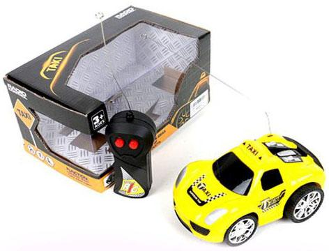 Машинка на радиоуправлении Shantou Gepai Такси, 2 канала пластик от 3 лет желтый SY197-1